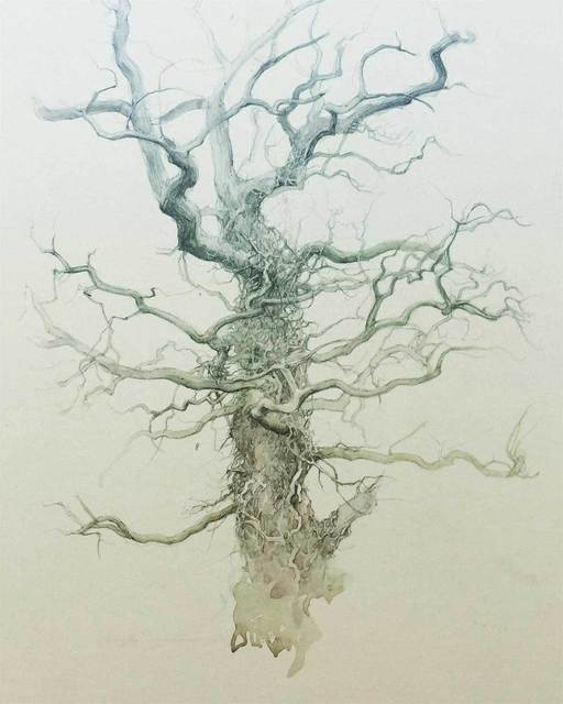 , 'Tree Detail,' , Mall Galleries
