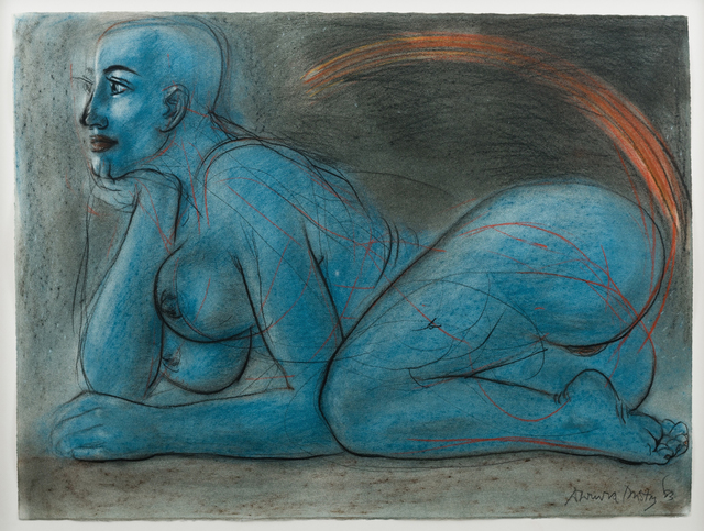 , 'Untitled (Blue Figure),' 1983, Jhaveri Contemporary