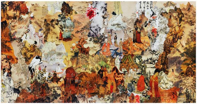 Seunghyo Jang, 'Old Love China', 2012, Space BM