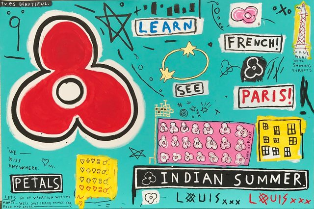 , 'Learn French See Paris,' 2017, Bruce Lurie Gallery