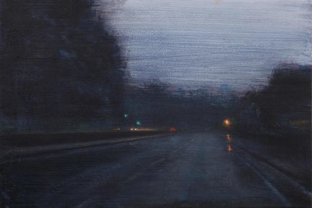 , 'Noche de lluvia,' 2017, Sala Parés