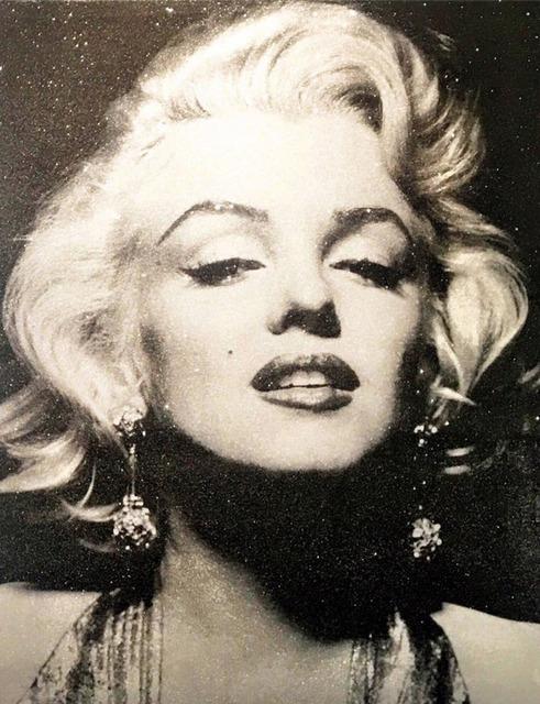 , 'Marilyn Monroe - Atomic Silver,' 2014, Maddox Gallery