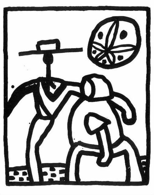 Keith Haring, 'Kutztown', 1989, Taglialatella Galleries