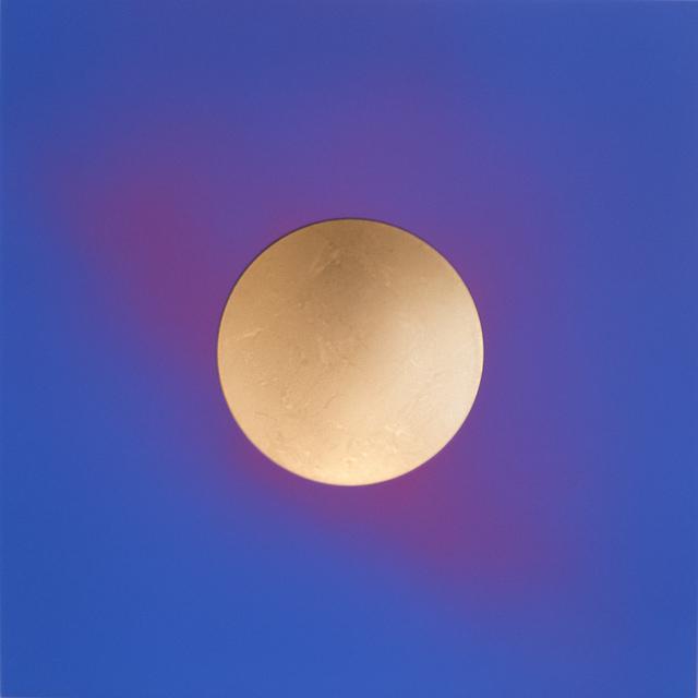 , 'Cobalt Light Signature,' 2018, Peter Blake Gallery