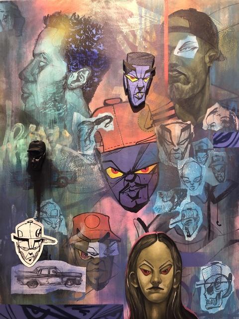 ABSTRK, 'En las called de Jesus Maria', 2019, Miami Art Society