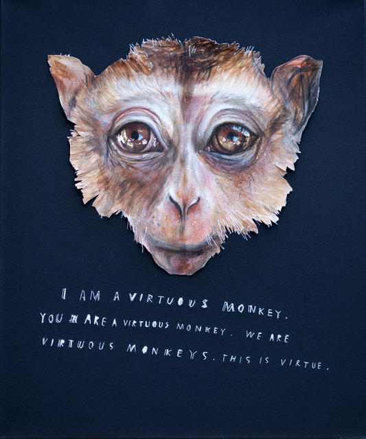 , 'I Am A Virtuous Monkey,' 2013, MUCA