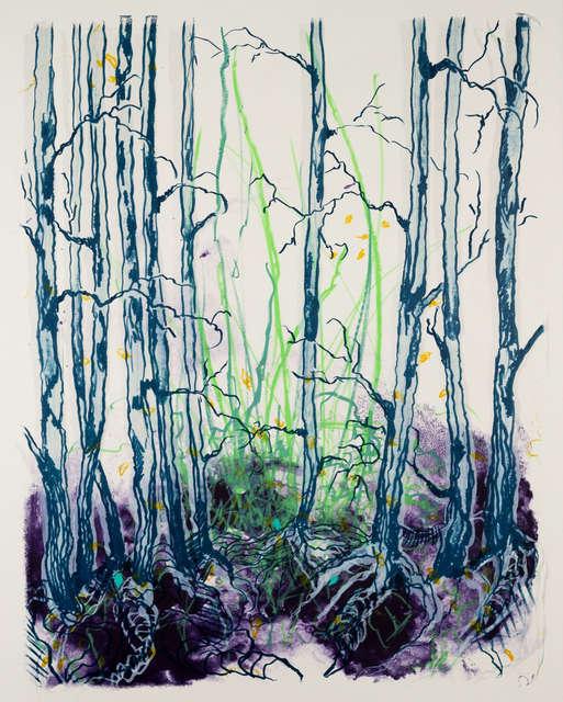 Katharina Albers, 'wald X(D)-IX', 2019, galerie burster