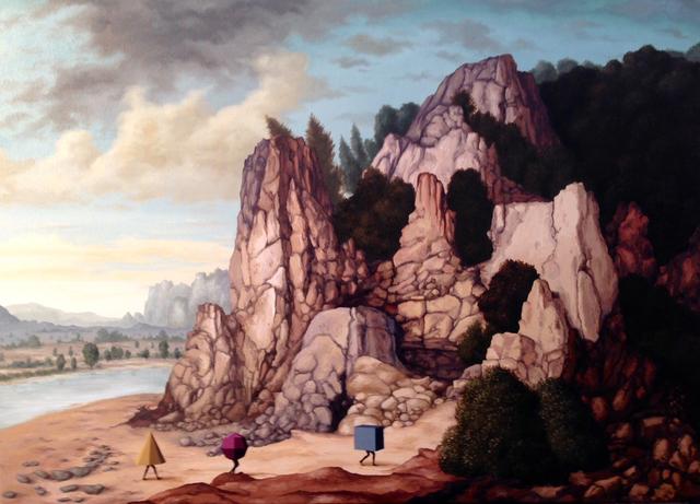 , 'Peregrinos [Pilgrims],' 2016, Casa Triângulo