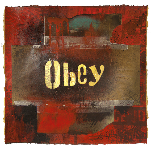 , 'OBEY Ransom Type,' 2015, StolenSpace Gallery