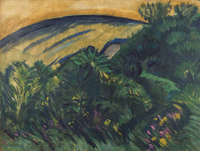 , 'Dünen und Meer (Dunes and Sea),' 1913, Kunstmuseum Bern