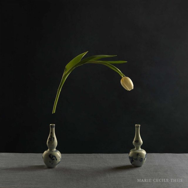 , 'Tulips and Two Vases,' 2015, SmithDavidson Gallery