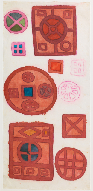 , 'Untitled (Mandalas Series),' ca. 1970, The Mayor Gallery