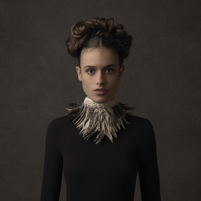 , 'Girl with Feather Collar II,' , SmithDavidson Gallery