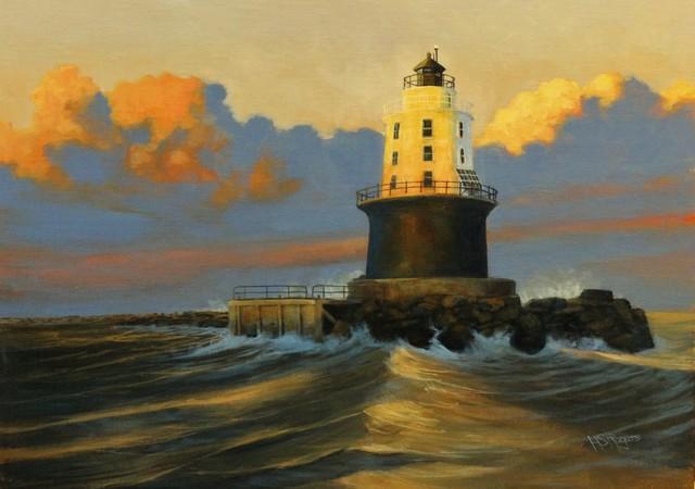 , 'Harbor of Refuge,' 2017, Peninsula Gallery