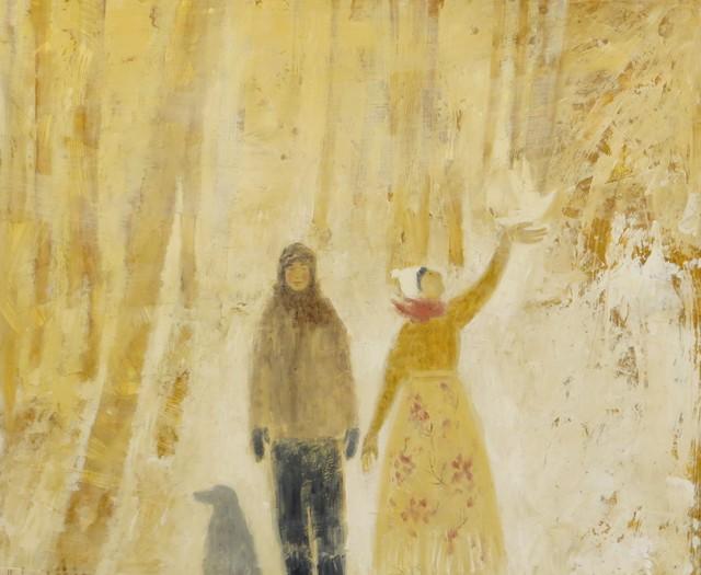 , 'Winter Walk,' 2019, Thompson's Galleries