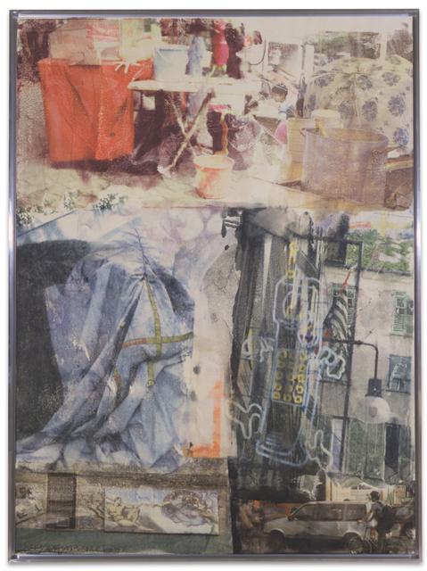 Robert Rauschenberg, 'Matinee [Anagram (A Pun)]', 1997, BASTIAN