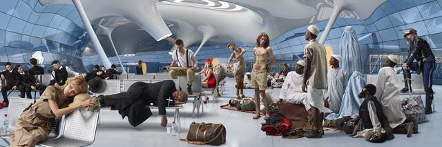 , 'Panorama #2,' 2012, Aeroplastics