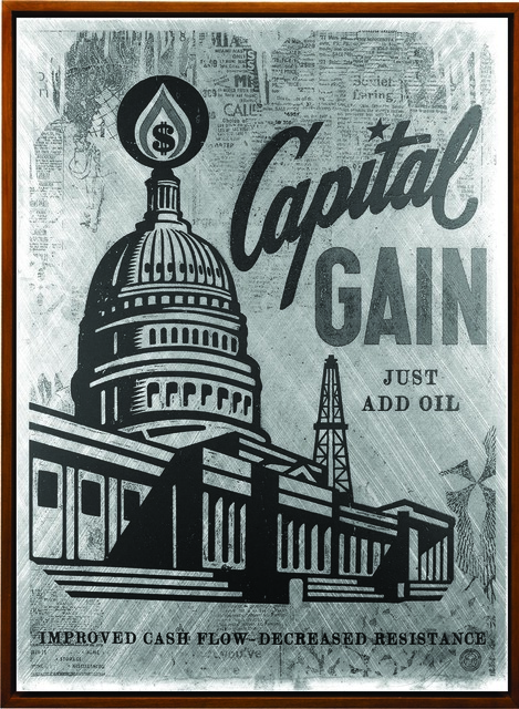 Shepard Fairey (OBEY), 'Capital Gain', 2016, Underdogs Gallery