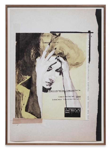 , 'Untitled (transcendental homeless...),' 1979, Sprüth Magers