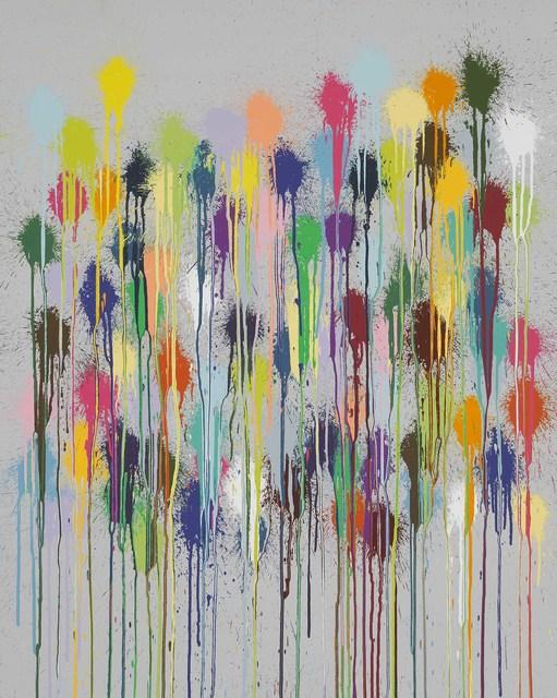 Ian Davenport, 'Colour Splat Fizz', 2019, Alan Cristea Gallery
