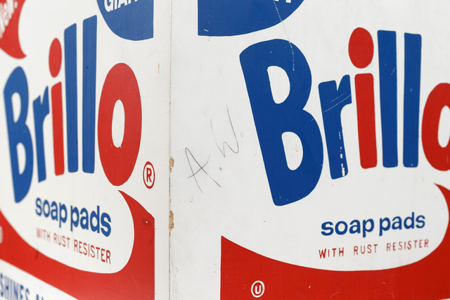 Andy Warhol, 'Brillo Soap Pads Box 1968 Stockholm Type (one of 6 known to exist)', 1968, MultiplesInc Projects
