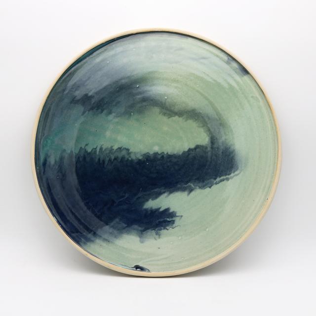 , 'Faux Celadon Landscape,' 2018, THROWN