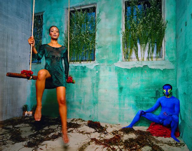 , 'Blue,' 1998, MARUANI MERCIER GALLERY