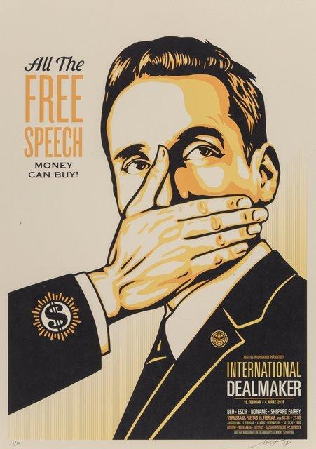 Shepard Fairey, 'Free Speech', 2018, Heritage Auctions