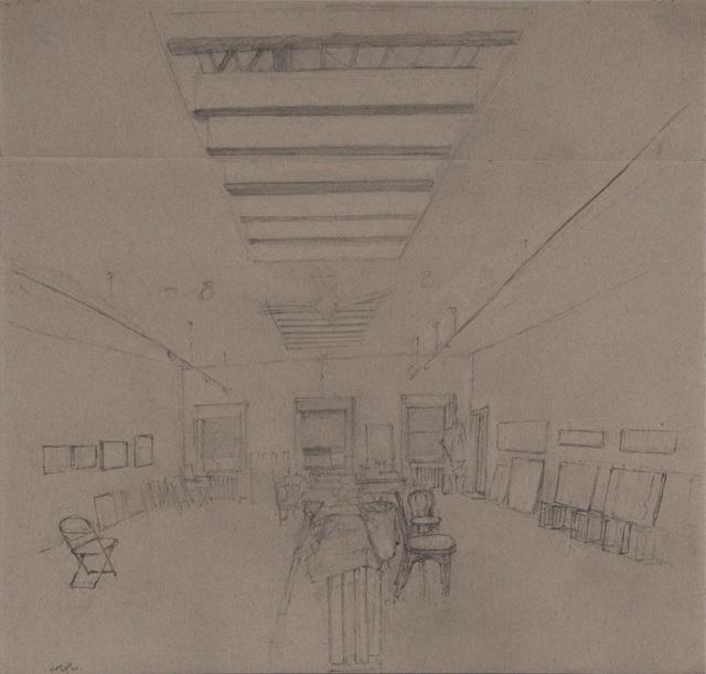 , 'Studio Interior Looking East (II),' 2016, Betty Cuningham