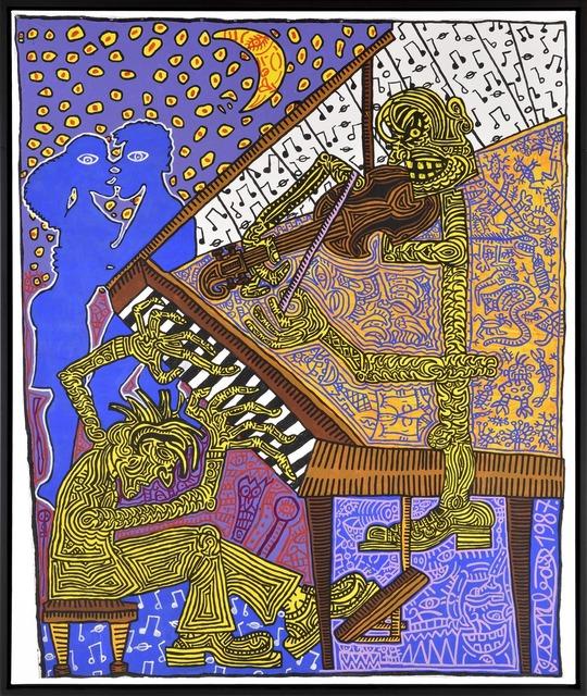 , 'Le pianiste,' 1987, Galerie Laurent Strouk