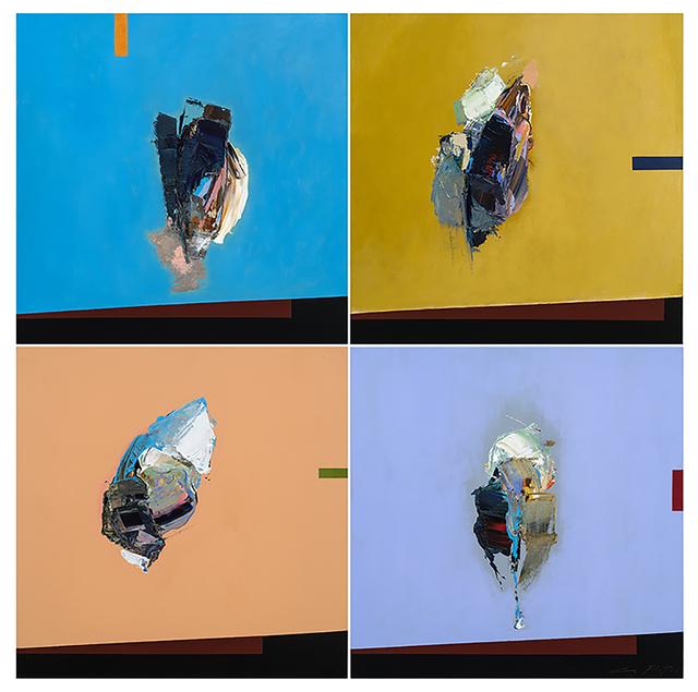 André Pitre, ' La couleur des choses', 2016, Thompson Landry Gallery