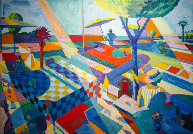, 'Picnic With Red Palm,' 1995, The Studio Shop