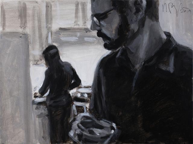 , 'Noir (kitchen),' 2019, Ro2 Art