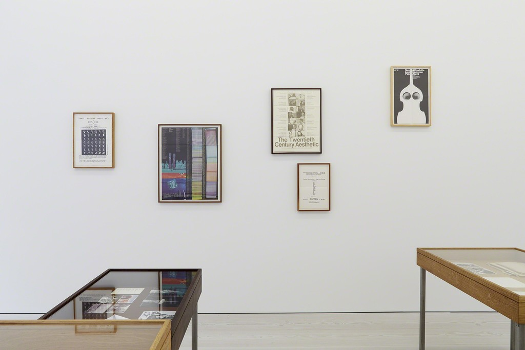 Joseph Grigely, The Gregory Battcock Archive, Installation View, Marian Goodman Gallery, London, June 21 – July 29, 2016