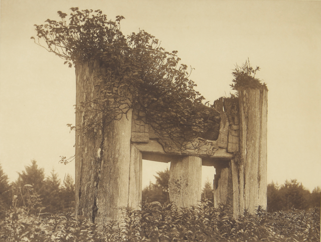 , 'A Haida Chief's Tomb at Yan,' 1907-1930, Empty Gallery