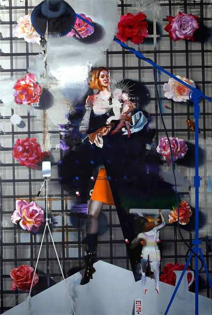 Rayk Goetze, 'Rosenhag', 2021, Painting, Oil and acrylic on canvas, Josef Filipp Galerie