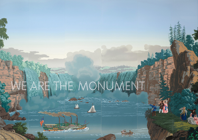 , 'We Are The Monument,' 2019, Parafin