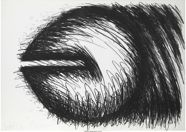 Judith Bernstein, 'Big Horizontal', 1976, Print, Lithograph, Heritage Auctions