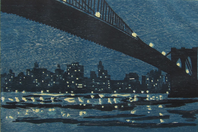 , 'Brooklyn Bridge,' 1996, Albert Merola Gallery