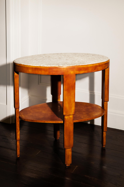 , 'Two-tiered oval table,' ca. 1925, VALLOIS