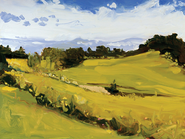 Susan Headley Van Campen, 'June 18, Oyster River Farm', Painting, Oil on panel, Dowling Walsh