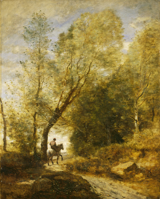 Jean-Baptiste-Camille Corot, 'The Forest of Coubron', 1872, National Gallery of Art, Washington, D.C.