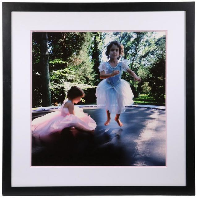 Nan Goldin, 'Lily and Isabel on Trampoline', 1996, inch&cm