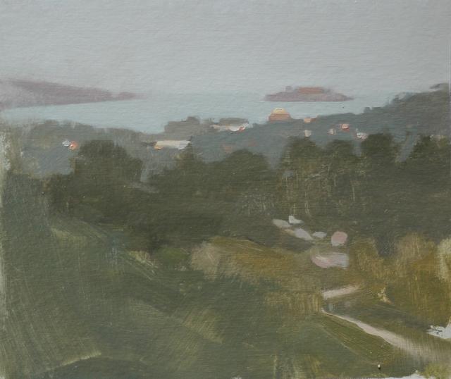, 'View to Alcatraz,' 2015, Abend Gallery