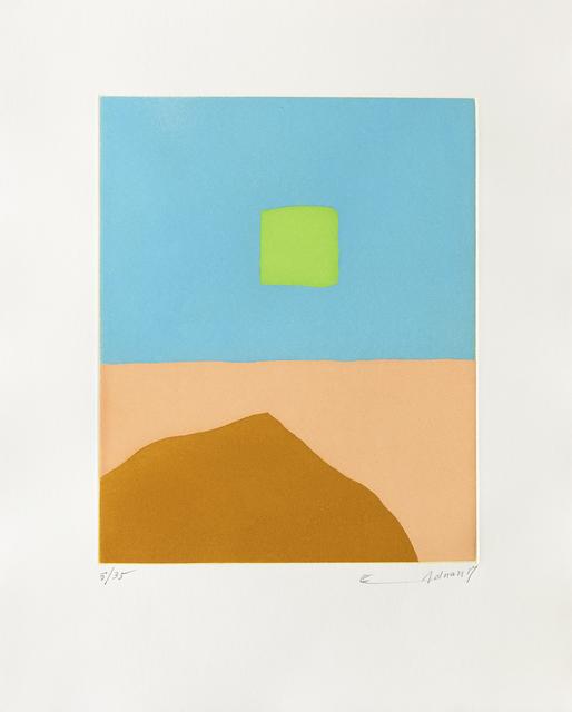 , 'Feu du désert,' 2017, Galerie Lelong & Co.