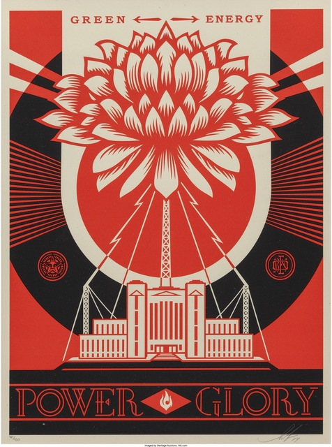 Shepard Fairey (OBEY), 'Green Power', 2014, Heritage Auctions