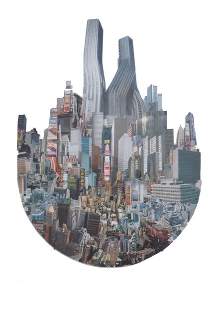, 'Future city/9 –Newton's city,' 2013, VILTIN Gallery