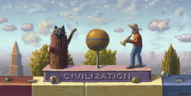 , 'Civilization,' 2015, Etherton Gallery