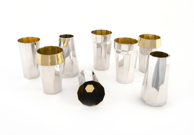 , 'Set of Cordial Cups,' 2013, Sienna Patti Contemporary