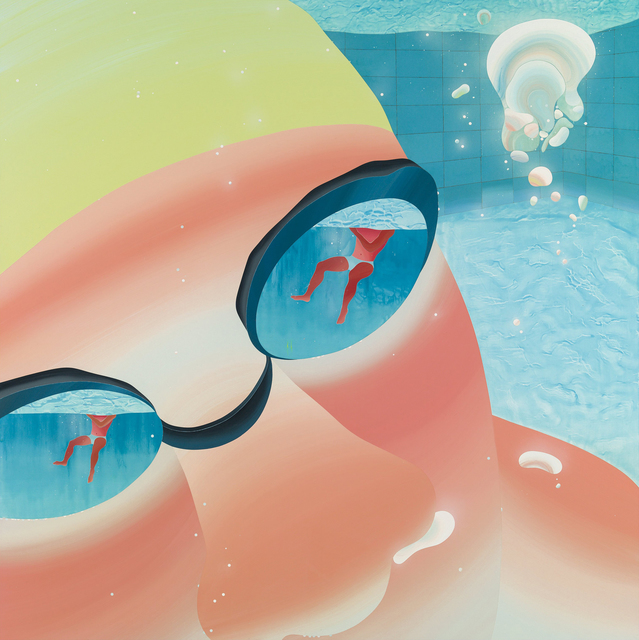 , 'Swimming pool series-Tiny bubble,' 2013, Aki Gallery